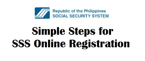Sss Online Gov Ph Registration
