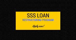 My Mom applies for SSS Loan Restructuring Program / SSS Condonation