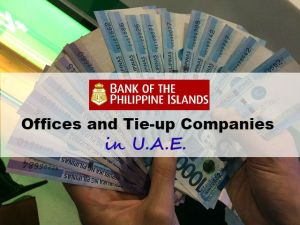 Where to Find BPI Offices and BPI Tie-up Companies in UAE