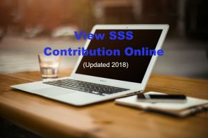 Want to View Your SSS Contribution Online this 2018? Follow these simple steps…