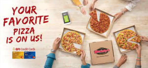 BPI Credit Card Promo 2018: Shop Anywhere and Get a FREE Shakey's Pizza