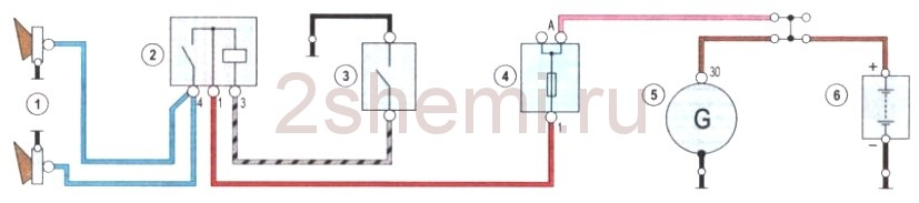Tranzisztoros hangjelzők kapcsolási rajzok
