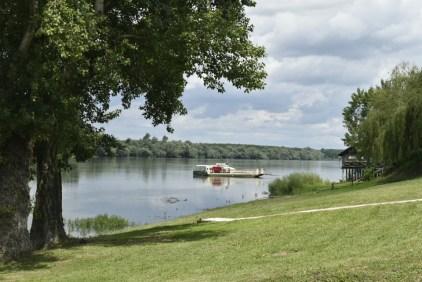 Lunch spot by Danube