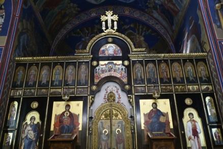 St Sava Church interior
