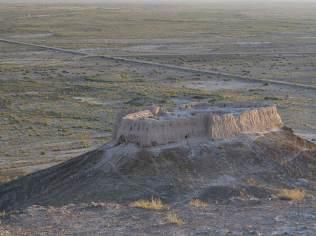 Ayuz Qala 2, seen from Ayuz Qala 1