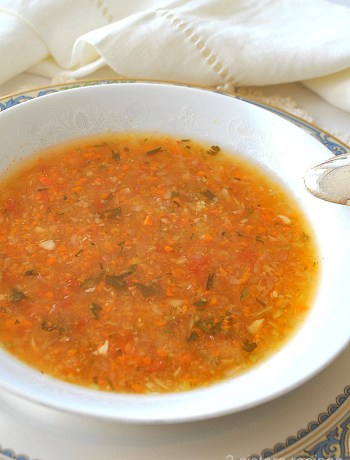 Italian Venetian Soup by 2sistersrecipes.com