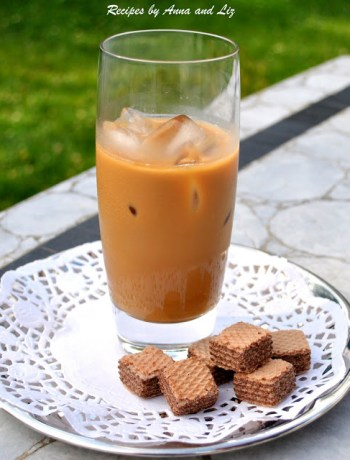 Italian Iced Coffee by 2sistersrecipes.com
