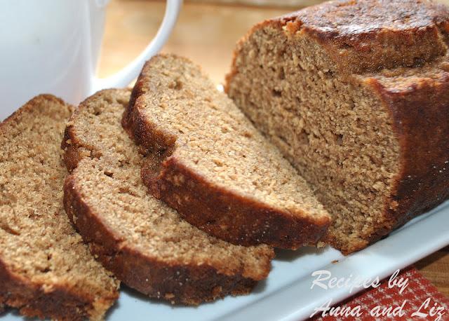 Low-Fat Whole Wheat Pumpkin Spice Bread