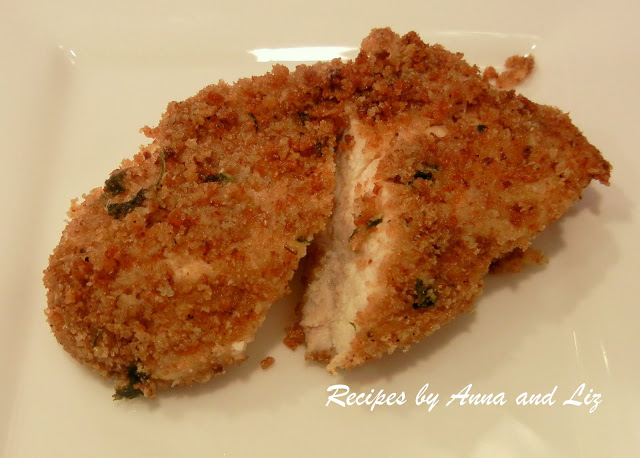 Simply Baked Chicken by 2sistersrecipes.com