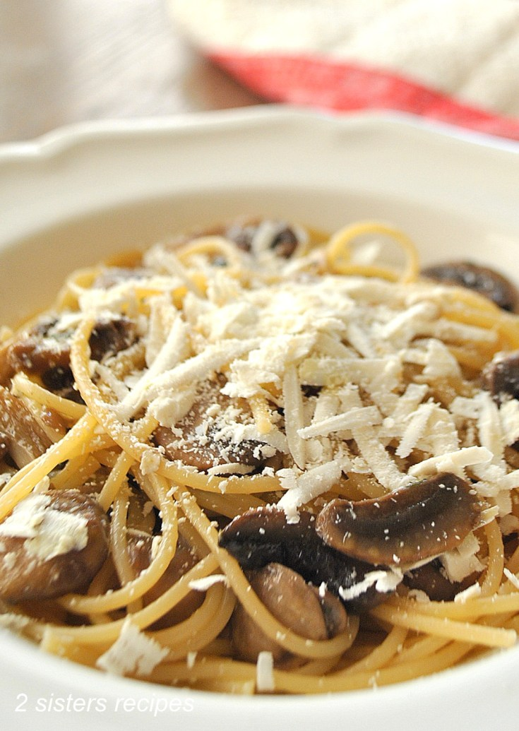 Wild Mushrooms with Cognac and Truffle Oil