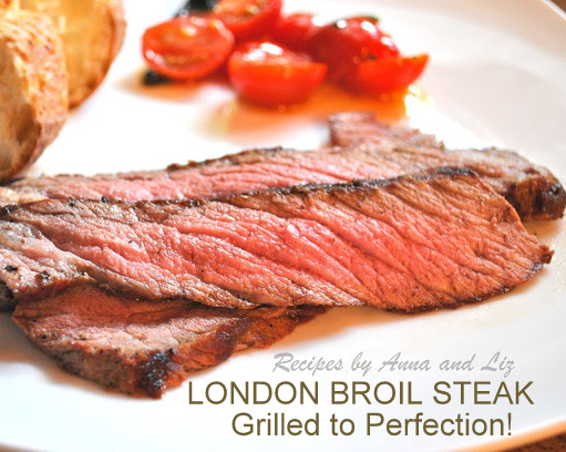 London Broil Steak Grilled to Perfection!