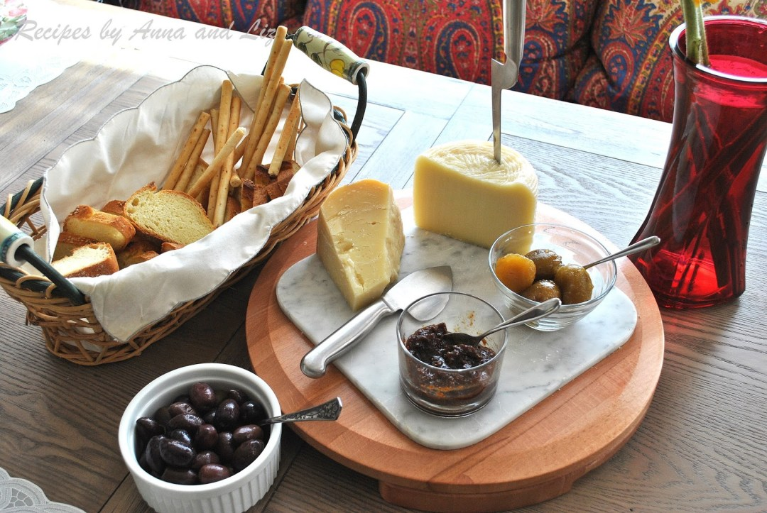 Cheeses and Olives for All Seasons by 2sistersrecipes.com