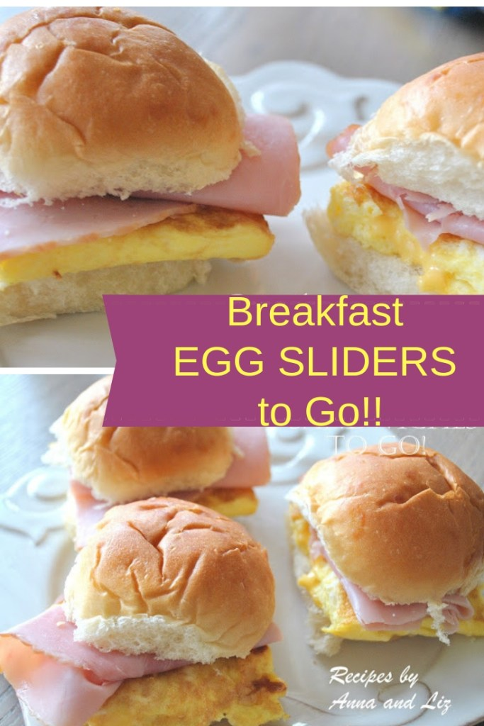 Breakfast Egg Sliders to Go! by 2sistersrecipes.com