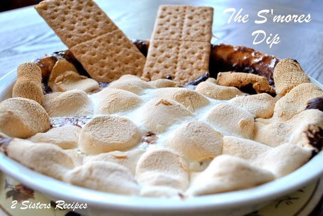 The S;more's Dip by 2sistersrecipes.com