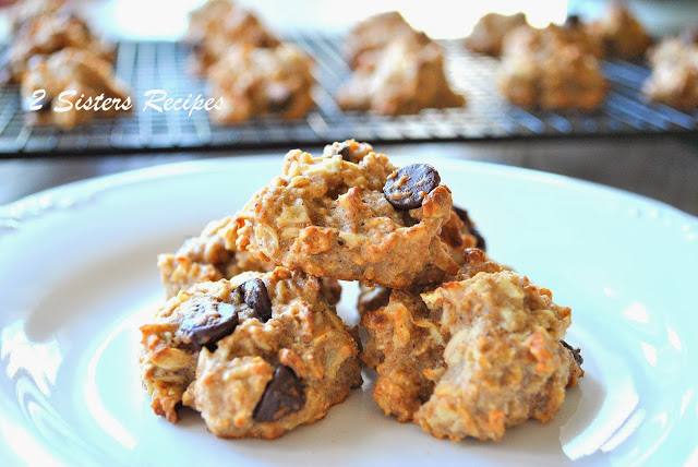 Apple-Oatmeal Cookies - NO Sugar and NO Butter