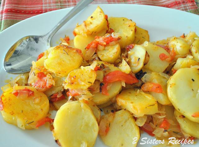 Roasted Potato Marinara