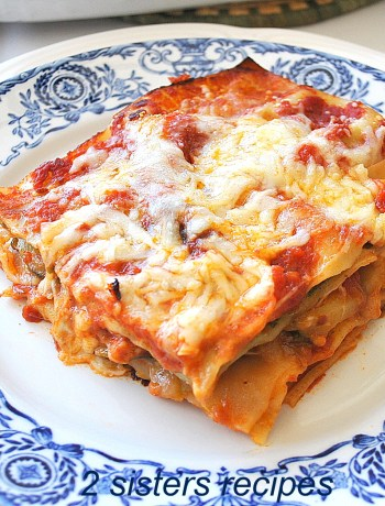 Best Vegetable Lasagna by 2sistersrecipes.com