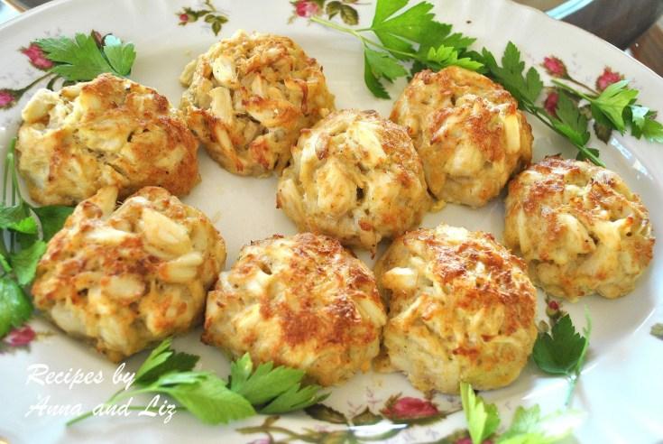 Crab Cakes - Lightened!