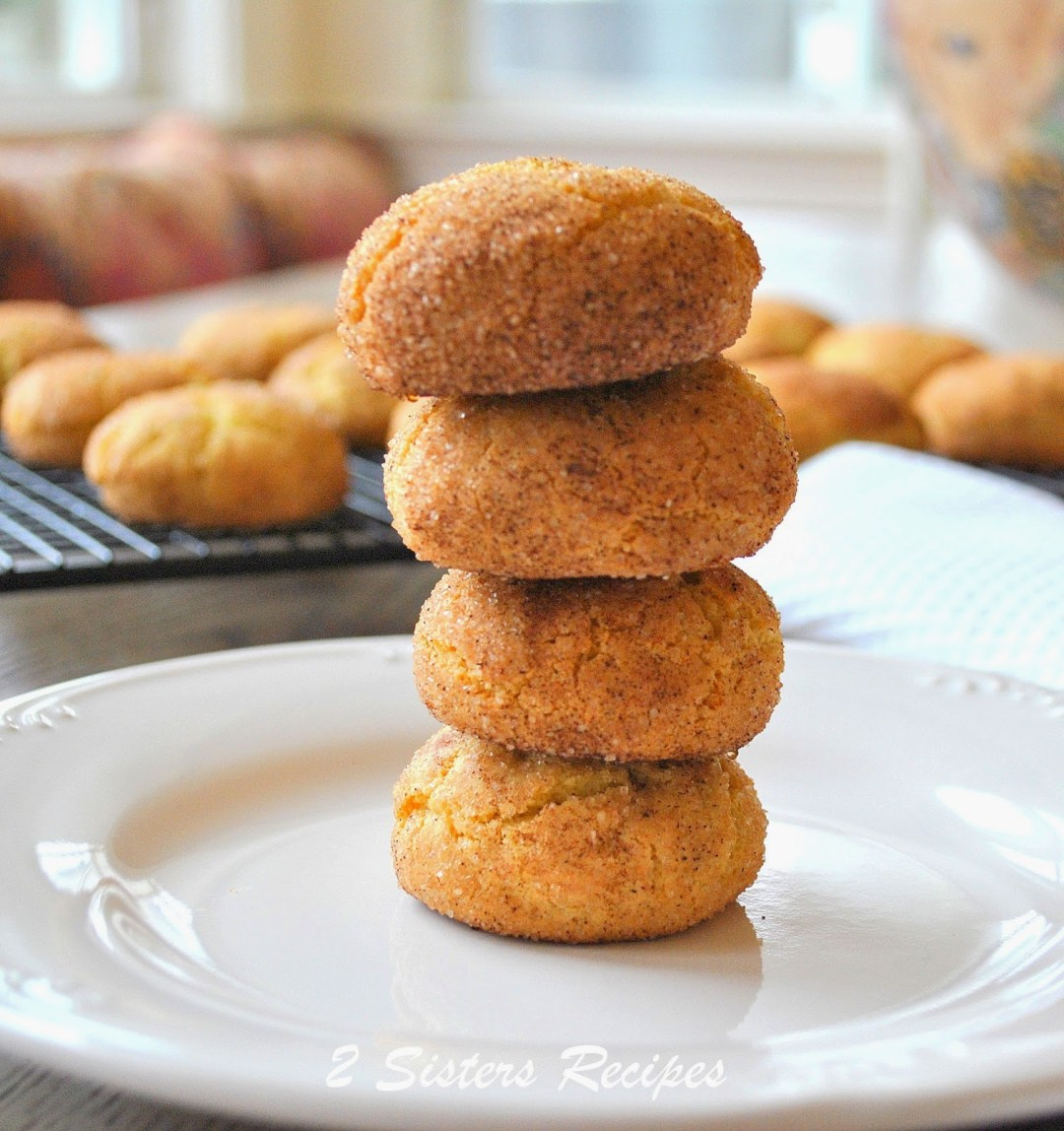 Classic Snickerdoodle Cookies by 2sistersrecipes.com