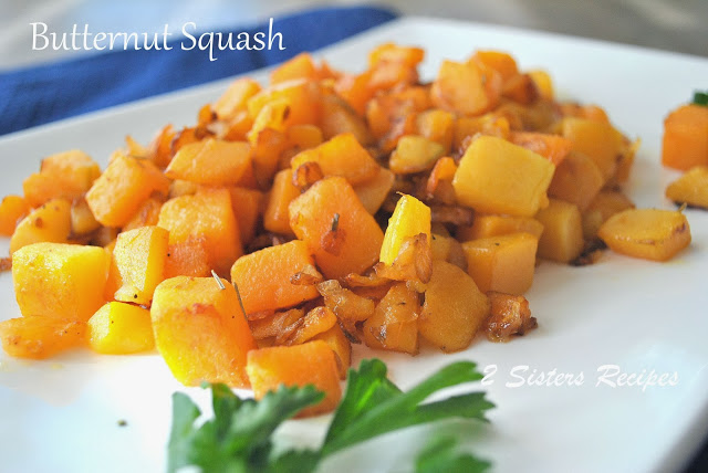 Caramelized Butternut Squash by 2sistersecipes.com