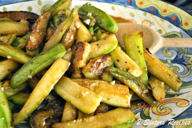 Zucchini Sticks Oreganata by 2sistersrecipes.com
