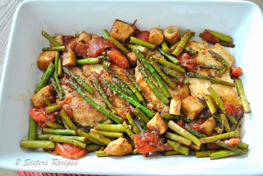 Grilled Chicken with Hearts of Palm, by 2sistersrecipes.com