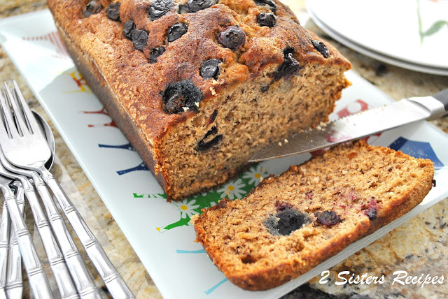 The Ultimate Blueberry Banana Bread
