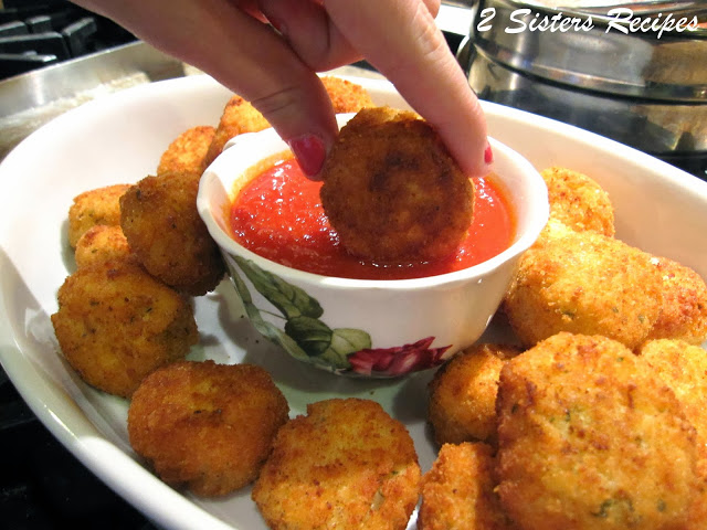 Italian Rice Balls with Eggs and Cheese