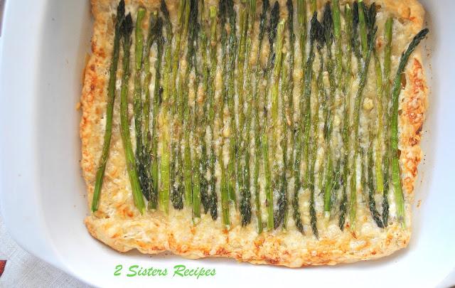 Asparagus Gruyere Swiss Tart