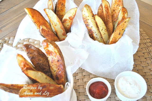 OVEN Steak Fries - Restaurant Style