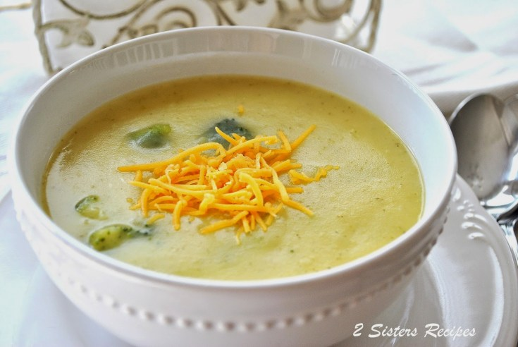 Potato, Broccoli and Cheddar Soup