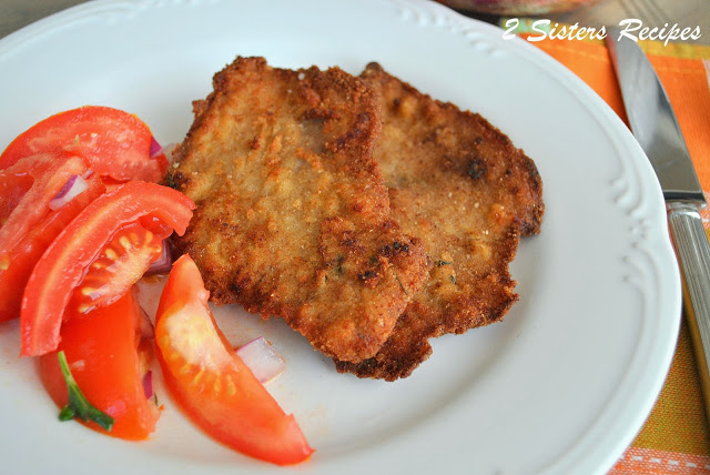 Perfect Veal Cutlet Milanese