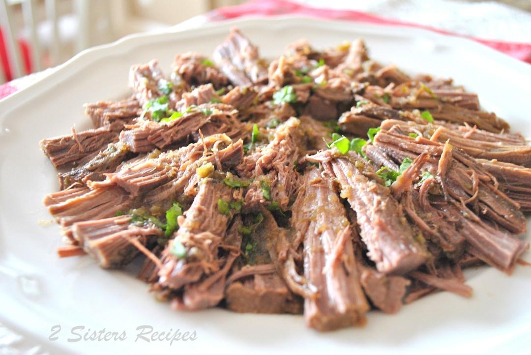 Oven Baked Brisket by 2sistersrecipes.com