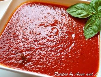 Mom's Quick Marinara Sauce by 2sistersrecipes.com
