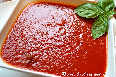 Mom's Quick Marinara Sauce by 2sistersrecipes.com
