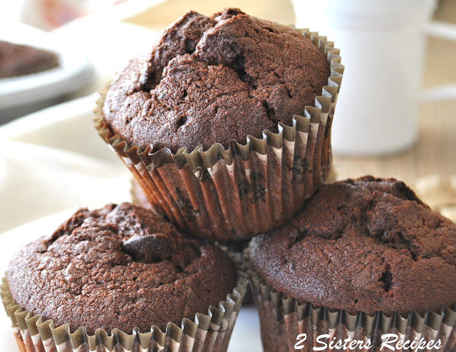 Death by Chocolate Zucchini Muffins