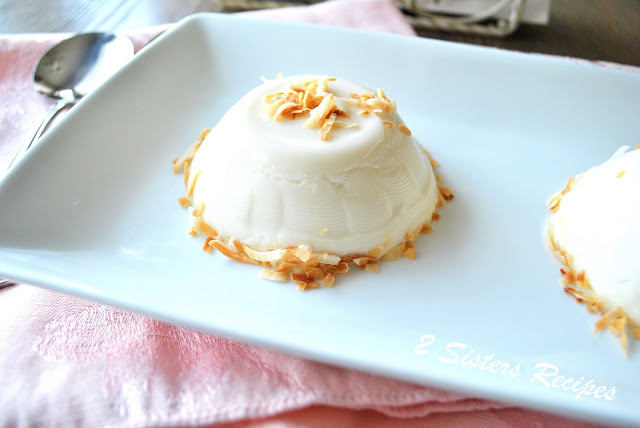 No Bake, Dairy-Free, Vanilla Toasted Almond Panna Cotta