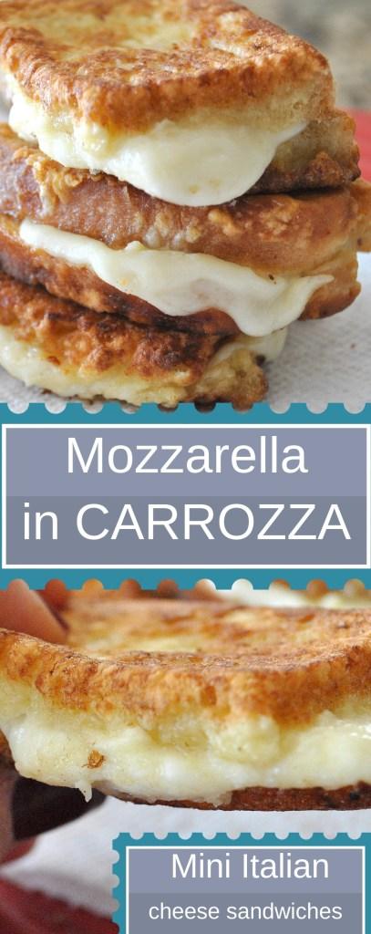 Mozzarella Carrozza by 2sistersrecipes.com