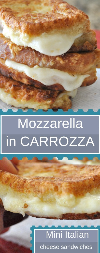 Mozzarella Carrozza by 2sistersrecipes.com