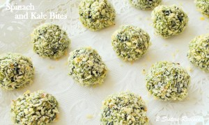Spinach and Kale Bites by 2sistersrecipes.com