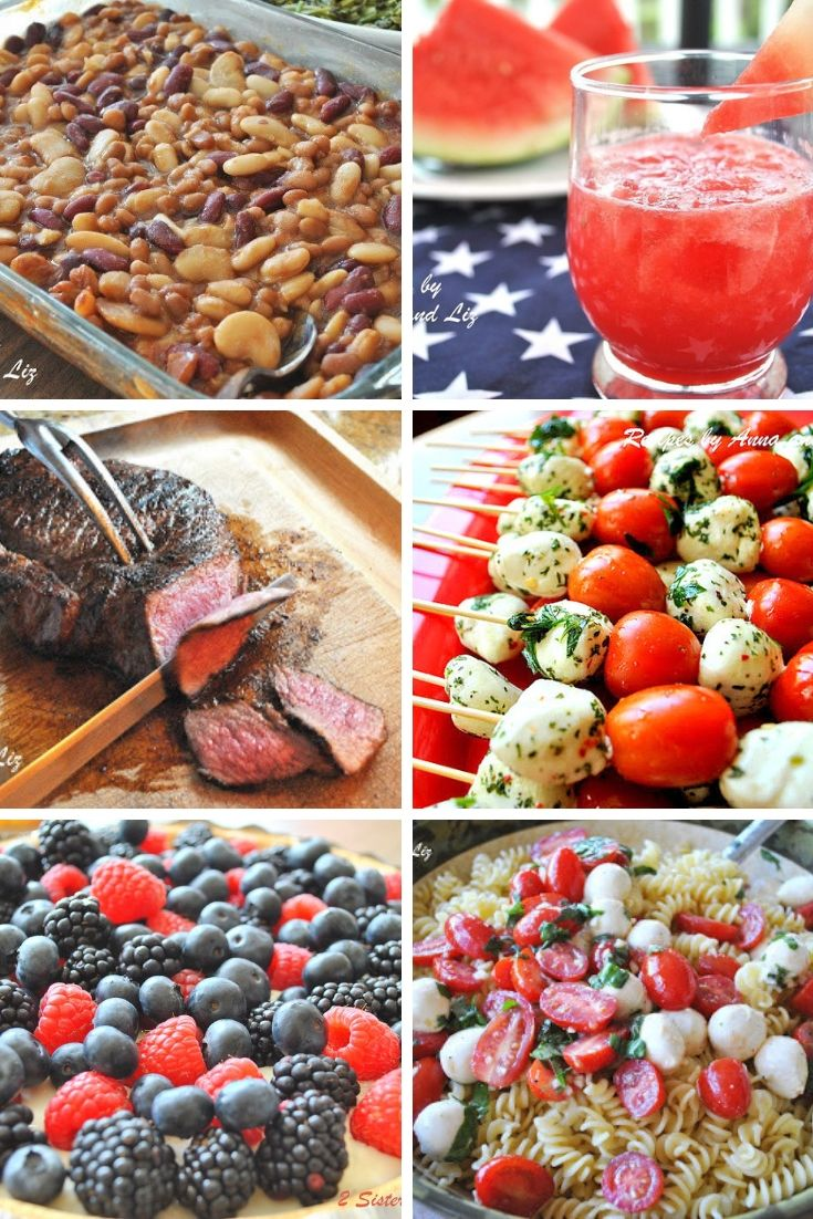 10 Easy Fourth of July Recipes by 2sistersrecipes.com