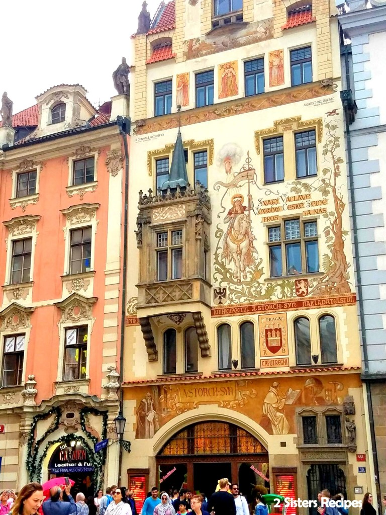 Old Town Square in Prague, by 2sistersrecipes.com