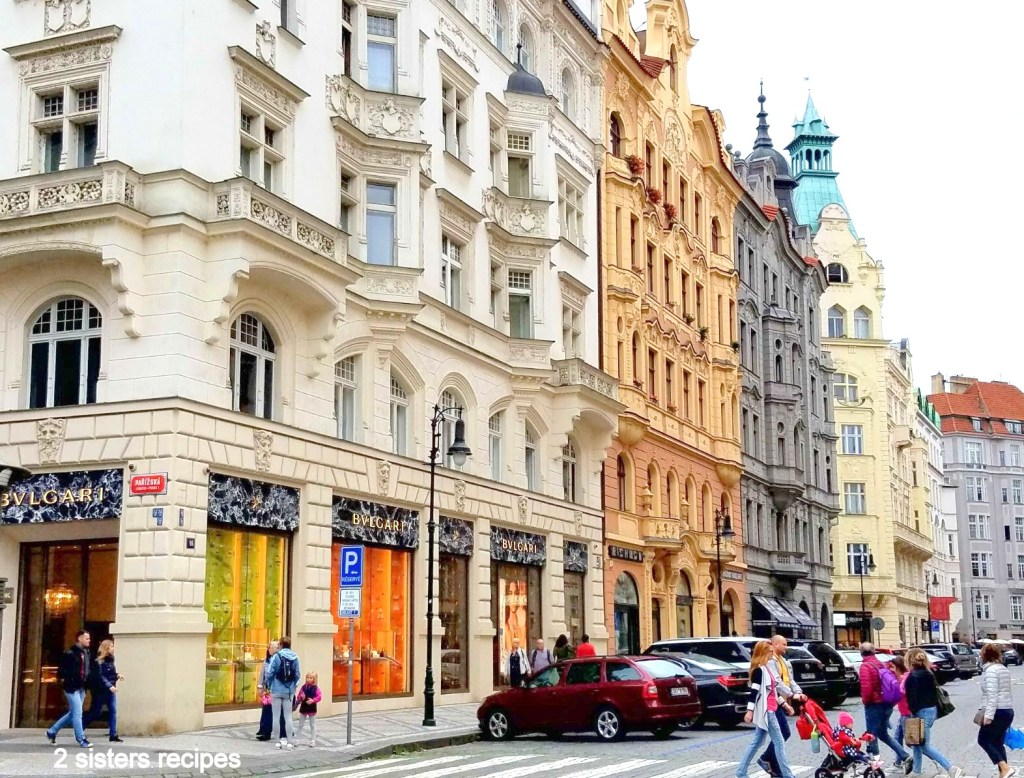 High end stores in Prague by 2sistersrecipes.com