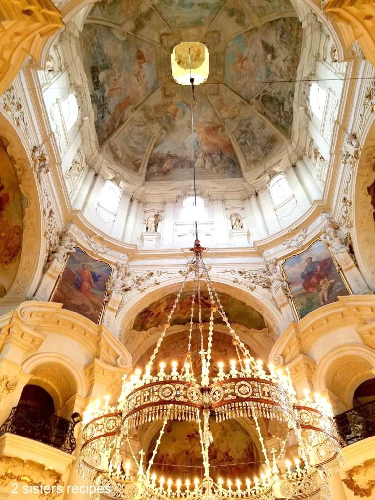 St. Nicholas Church in Prague, 2sistersrecipes.com