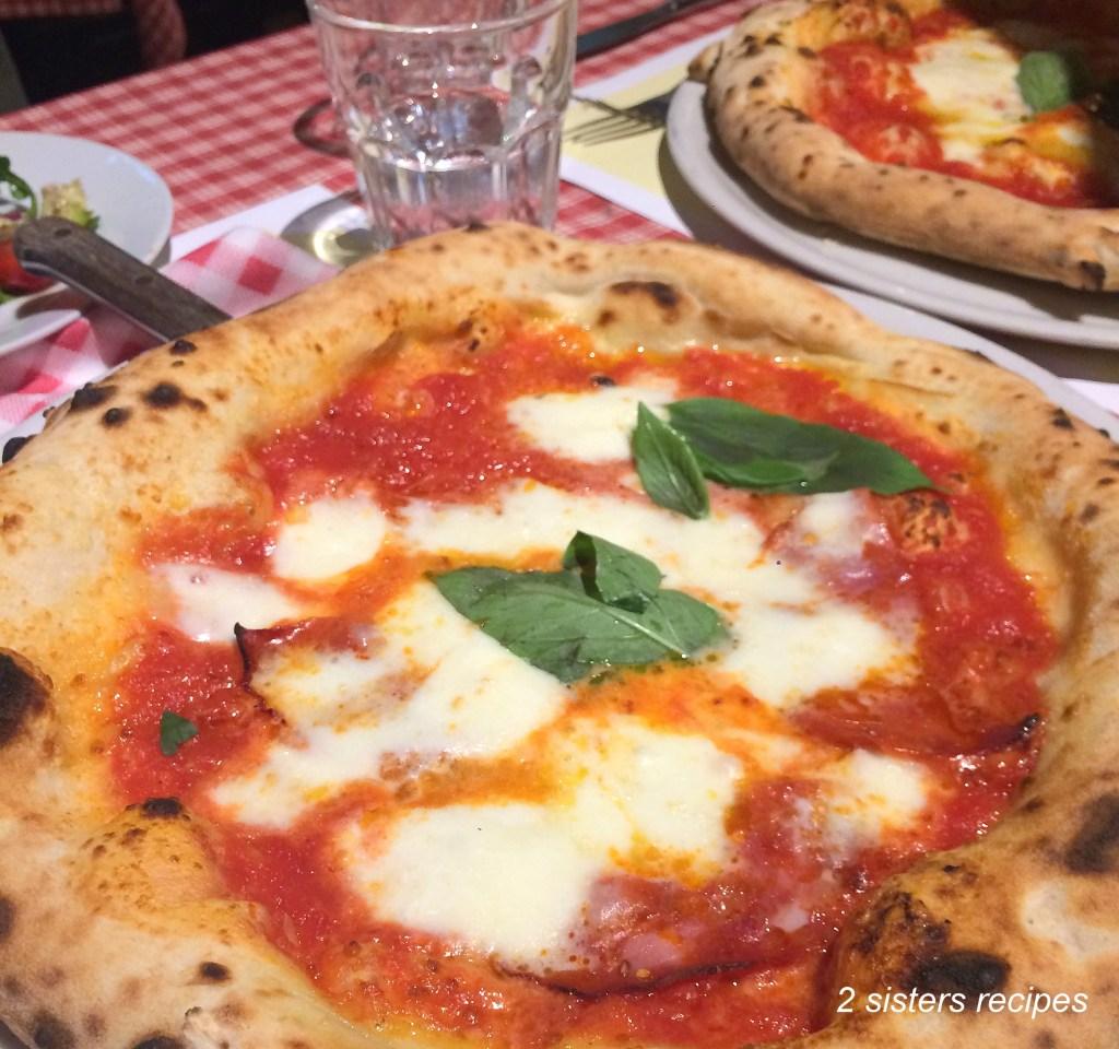 San Carlo Pizza in Prague! by 2sistersrecipes.com