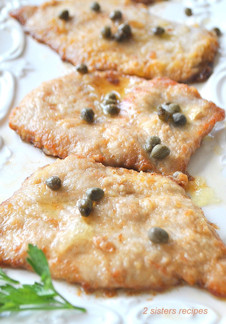 Veal Piccata with Lemon and Capers