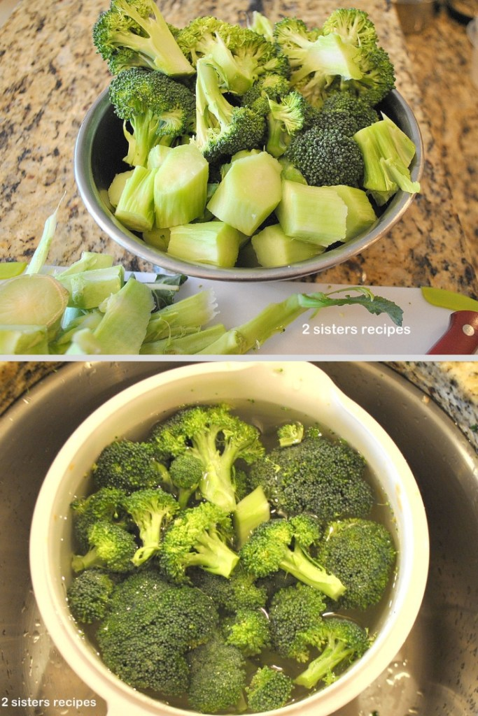 Easy Broccoli Leek Soup by 2sistersrecipes.com