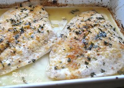 Baked Flounder Filet Oreganata by 2sistersrecipes.com