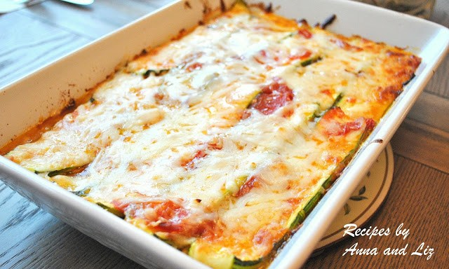 Best Zucchini Lasagna without Noodles by 2sistersrecipes.com