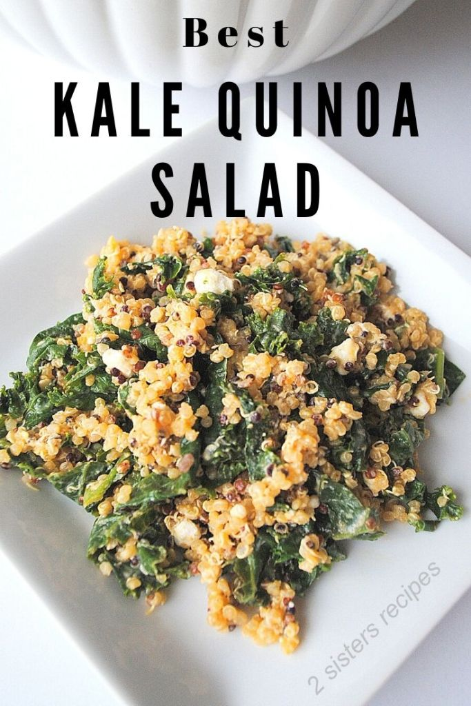 Kale Quinoa Salad by 2sistersrecipes.com